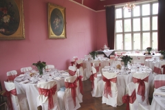 Function room for small wedding reception