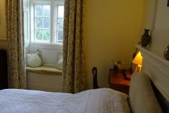 Mary Gordon bedroom and window